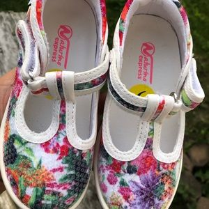 Naturio express marcella floral pink shoes for gir